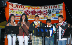 Cayo Music School at the Cayo Arts Festival 2010