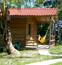 a cabin at Log Cab-inn San Ignacio Belize