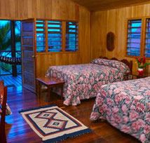 A room at Windy Hill, San Ignacio, Belize