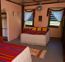 A room at Windy Hill, San Ignacio Belize