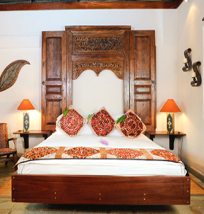 A room with lavish bed at Chaa Creek San Ignacio Belize